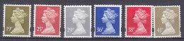 PGL BA0901 - GRANDE BRETAGNE Yv N°1709/14 ** MACHINS - 1952-.... (Elizabeth II)