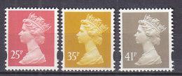PGL BA0930 - GRANDE BRETAGNE Yv N°1715/17 ** MACHINS - 1952-.... (Elizabeth II)