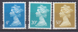 PGL BA0934 - GRANDE BRETAGNE Yv N°1730/32 ** MACHINS - 1952-.... (Elizabeth II)