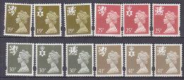 PGL BA0962 - GRANDE BRETAGNE Yv N°1718/29 ** REGIONAUX - 1952-.... (Elizabeth II)