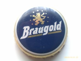 Chapa Kronkorken Caps Tappi Cerveza Braugold. Erfurt. Alemania - Bière
