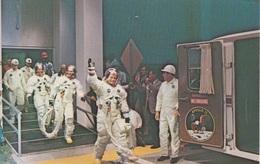 NASA Space Program Postcard, Kennedy Space Center, Apollo 11 Crew. - Postcards