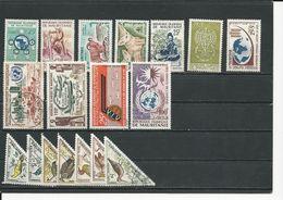 MAURITANIE  Voir Détail(18) * Et O Cote 13,00 $ 1938-41 - Mauritanie (1960-...)