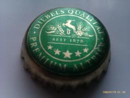 Chapa Kronkorken Caps Tappi Cerveza Diebels. Issum. Alemania - Birra