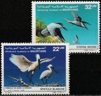 Mauritania 1986, Birds (MNH, **) - Ooievaars