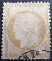 LOT FD/1679 - CERES N°59 - CACHET AMBULANT DISCRET - 1871-1875 Ceres