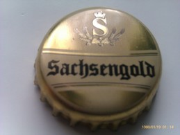 Chapa Kronkorken Caps Tappi Cerveza Sachsengold. Zwickau. Alemania - Birra
