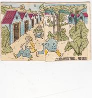 CPA à Système (32) Souvenir De BARBAZAN Petits Trous Scatologie Caca Diarrhée Curiste Humour (3 Scans) - A Systèmes