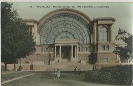 8Eb-957: 65 BRUXELLES Musées Royaux Des Arts Décoratifs Et Industriels -Edison Grand Bazar Anspach - Belgique