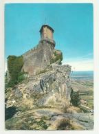 SAN MARINO CON FRANCOBOLLI GIOCHI OLIMPICI - VIAGGIATA FG - San Marino
