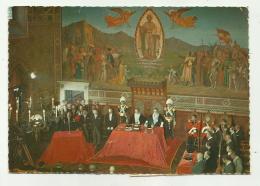 SAN MARINO - CERIMONIA D'INSEDIAMENTO DEGLI ECC.MI CAPITANI REGGENTI - CON FRANCOBOLLI NON VIAGGIATA FG - San Marino