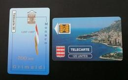 Lot De 2 Télécartes Monaco - Monaco