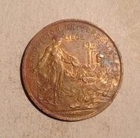 TOKEN JETON GETTONE FRANCIA 1830-1905 EXPOSITION UNIVERSELLE LIEGE 1905 - Monetari / Di Necessità