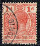 BRITISH SOLOMON ISLANDS 1914 - From Set Used - British Solomon Islands (...-1978)