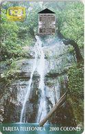 Costa Rica - ICE - Cascada De La Isla Del Coco - 08.1997, 80.000ex, Used - Costa Rica