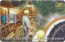 Costa Rica - ICE - Tecnologia Y Desarrollo - 03.1999, 1,000₡, 70.000ex, Used - Costa Rica