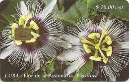Cuba - Etecsa - Passion Flower - CU-086 - 05.2000, 30.000ex, Used - Cuba