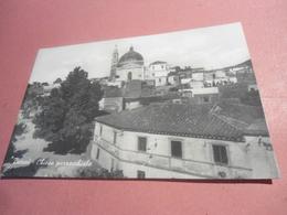 BURCEI - CHIESA PARROCHHIALE - CARTOLINA FORMATO PICCOLO B/NERO DEL 1955 - Cagliari