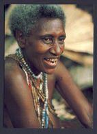 Woman From Interior Of Pentecost Vanuatu - Posted 1984 Santo - Océanie