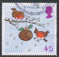 Great Britain 2001 45p Christmas Issue #2005 - 1952-.... (Elizabeth II)