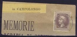 Lombardo-Veneto Austrian Newspaperstamp Used Postally In Italy  Campolongo - Lombardo-Venetien