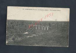 MILITARIA CPA MILITAIRE 1914/18 DOMPIERRE LE CIMETIÈRE  NON ECRITE : - Oorlog 1914-18