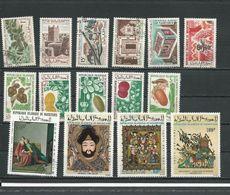 MAURITANIE Voir Détail (15) ** Cote 9,00 $ 1965-72 - Mauritanie (1960-...)