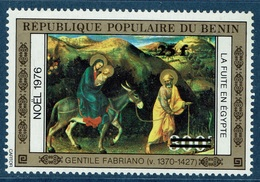 Benin, Gentile Da Fabriano, Overprint 25f/300f, 1984 MNH VF - Benin - Dahomey (1960-...)