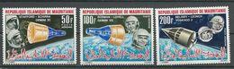 MAURITANIE Scott C48-C50 Yvert PA51-PA53 (3) ** Cote 6,50 $ 1966 - Mauritanie (1960-...)