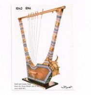 Iraq-Irak. Gold And Mosaic Harp From The Great Death - Iraq