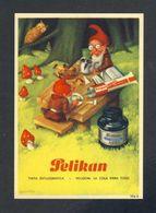 Buvard PELIKAN Num. 1916 R. Encre, Gnomes (Ref. 99696) - Blotters