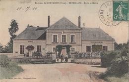 CARTE POSTALE DE REVEILLON - France