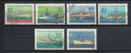 URSS545) 1959 - Marina Mercantile -Serie Cpl 6val. USED - Usati