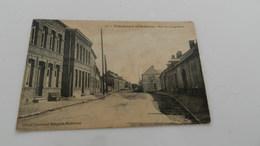 Cp  Vadencourt Et Boheries Rue De Lesquielles - Autres Communes