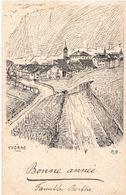 Yvorne - Vigne - Timbre 1918 - VD Vaud