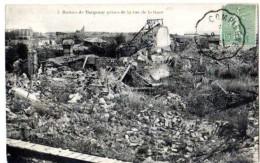 Tergnier 02 Aisne, Ruines Rue D Ela Gare, Semeuse 15c Ligné Vert MAURY 130, Convoyeur Ligne  ... à Compiègne - Autres Communes