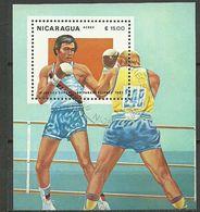 JUEGOS DEPORTIVOS PANAMERICANOS  1983 NICARAGUA BOXEO - Juegos Olímpicos