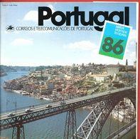 PORTOGALLO PORTUGAL FOLDER - Selos 1986 - Correios E Telecomunicacoes De Portugal - Libretti