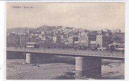 CARD GENOVA PONTE PILA ANIMATO TRAM CARROZZE   -FP-V-2-0882- 28005 - Genova (Genoa)