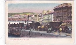 CARD GENOVA SCALO DEL PORTO CARICAMENTO DI BOTTI OLIO O VINO -SACCHI SU TRENO MERCI  -FP-V-2-0882- 28006 - Genova (Genoa)