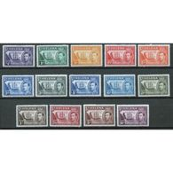 St Helena King George V Complete Definitive Set From 1938.  This Set Is In Mounted Mint Condition. - Saint Helena Island