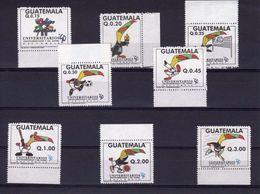 Guatemala 1990, University Games, Tucan, Basketball, Football, Baseball, Judo, Volleyball, 8val - Guatemala