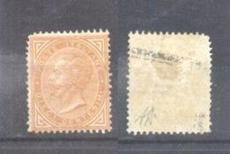 Italy 1863 King Viktor Emanuel II 10C Turin SIGNED Alberto Diena Mi.17 Sas.T17 MH AM.499 - Nuovi