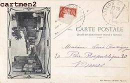 TOULON FAUBOURG SAINT-ROCH CHEMIN DE PLAISANCE PAPIERS SIGURD 1900 - Toulon