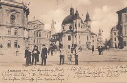 KREMSIER (Ostmähren) - Hauptplatz?, Gel.1914 Von Kremsier > Hohenstadt, Gute Erhaltung - Böhmen Und Mähren