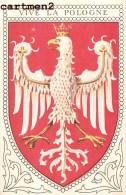 VIVE LA POLOGNE POLAND BLASON DRAPEAU - Polonia