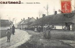 RARE CPA :  MONT-BERNENCHON HAMEAU DE RIEZ ANIME 62 - France