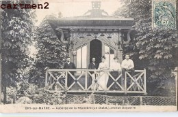 RARE CPA : BRY SUR MARNE AUBERGE DE LA PEPINIERE (LE CHALET) AVENUE DAGUERRE 94 - Bry Sur Marne