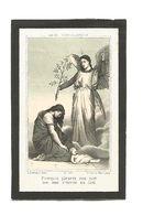 D 132. LUCIE-MARIE-LOUISE  DECOSTER - BEAUVECHAIN 1889 / 1891 - Images Religieuses
