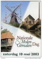Molen/moulin - STICKER (zelfklever/autocollant) Van De Nationale Molen- En Gemalendag (Nederland) 2003 - Stickers